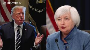 Yellen's quiet power meets Trump's force as term-end looms