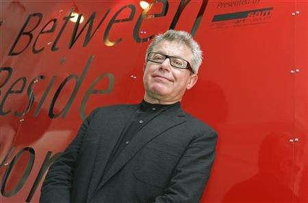 Architect Daniel Libeskind poses after a news conference at the Singapore Art Museum in Singapore in this January 3, 2007 handout photo. Born in Poland in 1946, Libeskind's design was chosen for the 16-acre site of the former World Trade Center destroyed by the September 11 attacks in 2001. REUTERS/Handout