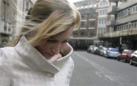 Heather Mills McCartney leaves the High Court in London, March 6, 2007. REUTERS/Luke MacGregor