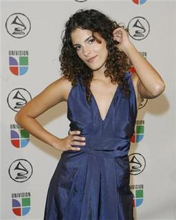 Singer Ceu arrives at the 7th annual Latin Grammy Awards in New York, in this November 2, 2006 file photo. The Brazilian singer and composer combines modern rhythms with traditional Sambas to create a fresh, sexy sound that propelled her to the top of Billboard's world chart. REUTERS/Lucas Jackson