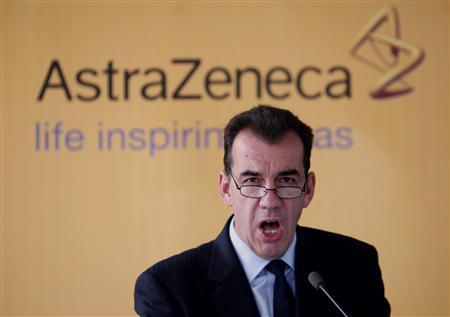 David Brennan, Chief Executive Officer of the United Kingdom based AstraZeneca Plc, addresses during the inaugural ceremony of their new global process research & development laboratory in Bangalore March 21, 2007. AstraZeneca is near a deal to buy MedImmune Inc. in an agreement that could be worth more than $13 billion (6.49 billion pounds), the Wall Street Journal reported on its Web site on Sunday. REUTERS/Jagadeesh