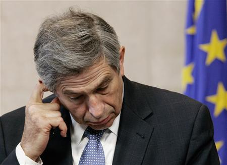 World Bank President Paul Wolfowitz during a news conference at the European Union headquarters in Brussels, May 2, 2007. REUTERS/Francois Lenoir