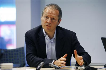 Ubisoft President and Chief Executive Officer Yves Guillemot speaks during the Reuters Global Technology, Media and Telecoms Summit in New York, May 16, 2007. REUTERS/Keith Bedford
