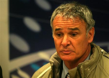 Italian coach Claudio Ranieri is pictured in this file photo taken when his former Valencia side were defeated by Steaua Bucharest in their UEFA Cup match at Ghencea stadium in Bucharest on February 24, 2005. Ranieri quit as coach of Serie A team Parma on Thursday, sparking fresh media reports he was set to take over at Manchester City. REUTERS/Mihai Barbu