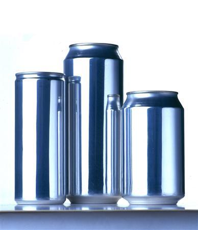 Rexam cans are seen in an undated publicity photo. Owens-Illinois said on Monday it will sell its plastics packaging business to Rexam, the world's biggest can maker, for about $1.825 billion (928 million pounds). REUTERS/Handout