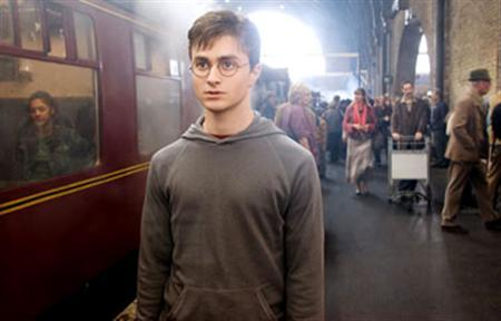 Daniel Radcliffe as Harry Potter in a scene from ''Harry Potter and the Order of the Phoenix'' in a photo courtesy of Warner Bros. Pictures. REUTERS/Handout