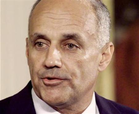 Former Surgeon General Richard Carmona in a file photo. The first surgeon general appointed by President Bush accused the administration on Tuesday of political interference and muzzling him on key issues like embryonic stem cell research. REUTERS/File
