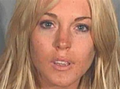 Lindsay Lohan is pictured in this police booking photograph released July 24, 2007. REUTERS/Santa Monica Police Dept./Courtesy TMZ.com/Handout