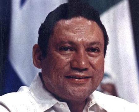 Manuel Noriega in a 1998 photo. The former Panamanian strongman on Friday was denied his request for a speedy return home when his long U.S. prison term for drug trafficking and racketeering ends next month. REUTERS/Alberto Lowe