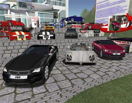 Second Computer in The World Virtual World Second Life