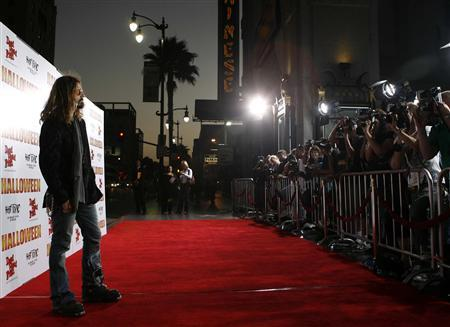 Director Rob Zombie arrives at the premiere of 'Halloween' in Hollywood August 23, 2007. REUTERS/Max Morse