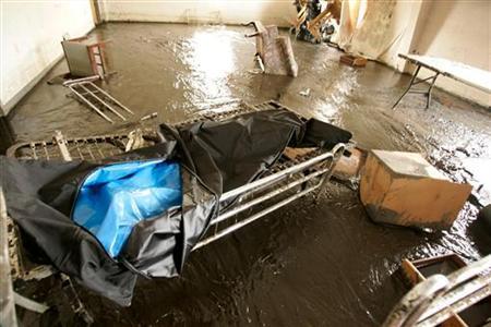 hurricane katrina dead bodies wheelchair