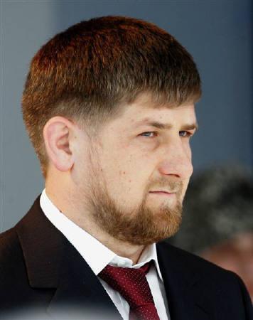Chechnya's President Ramzan Kadyrov in Gudermes in this April 5, 2007 file photo. REUTERS/Sergei Karpukhin