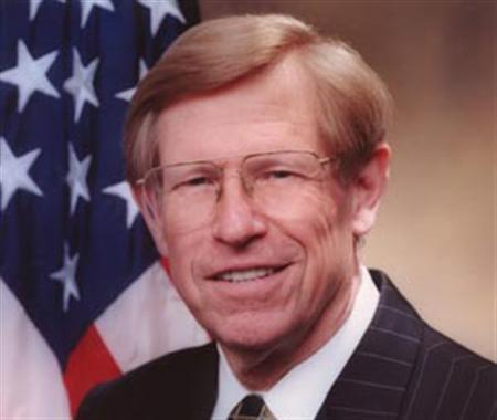 Former Solicitor General Theodore Olson in an undated photo. Senate Majority Leader Harry Reid vowed on Wednesday to block Olson from becoming attorney general if President Bush nominates him to replace Alberto Gonzales. REUTERS/Department of Justice/Handout
