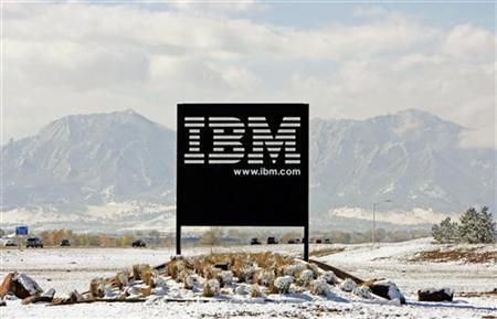 A view of an IBM facility outside Boulder, Colorado, October 18, 2006. IBM on Monday said it would start offering free word processing and other office software, joining a growing group of companies with free applications challenging a core Microsoft Corp product. REUTERS/Rick Wilking