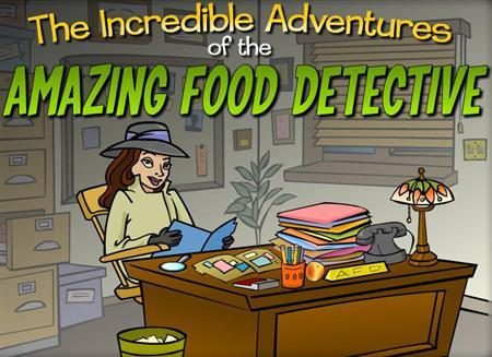 A screenshot from ''The Incredible Adventures of the Amazing Food Detective'' in an image courtesy of Kaiser Permanente. With child obesity rates rising, the U.S.'s biggest health maintenance organization on Tuesday launched an online video game to teach kids what to eat -- and then shut down after 20 minutes. REUTERS/Handout