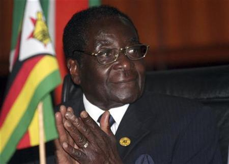 Zimbabwe's President Robert Mugabe attends the 27th Southern African Development Community (SADC) Heads of State and Government summit in Lusaka, August 16, 2007. REUTERS/Mackson Wasamunu