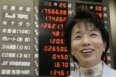 10月1日、大田弘子経済財政担当相は9月調査日銀短観について「しっかりした景気回復基調が裏付けられた」と述べた。1月撮影(2007年 ロイター/Toru Hanai)