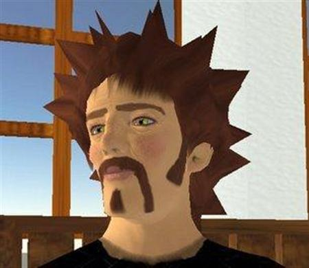 A undated computer grab shows the avatar of Second Life founder Philip Linden in virtual world Second Life, March 15, 2007. IBM <IBM.N> and Linden Labs, the operator of the Second Life virtual world, said on Tuesday they will work on ways to eventually let people use the a single online persona in different online services. REUTERS/Second Life
