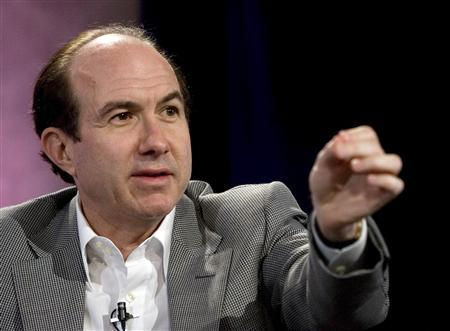 Philippe Dauman, President and Chief Executive Officer of Viacom Inc., speaks at the Web. 2.0 Summit in San Francisco, October 18, 2007. REUTERS/Kimberly White