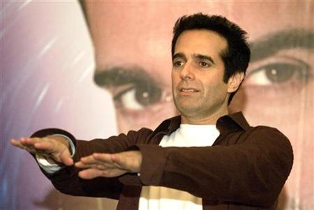 Illusionist David Copperfield in a file photo. FBI agents have seized nearly $2 million in cash from a Las Vegas warehouse owned by Copperfield, local media reports said on Thursday. REUTERS/Claro Cortes