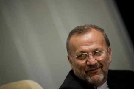 Iranian Foreign Minister Manouchehr Mottaki is seen in Tehran in this September 4, 2007 file photo. REUTERS/Morteza Nikoubazl