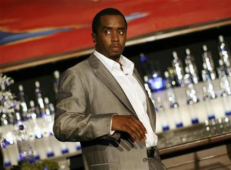 Sean ''Diddy'' Combs is pictured after announcing his alliance with Ciroc vodka and the Diageo spirits company in New York October 24, 2007. Combs says an accusation that he assaulted a man at a New York City nightclub earlier this month has been blown out of proportion by the media. REUTERS/Shannon Stapleton