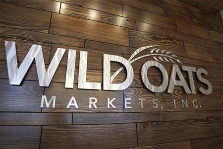 The sign at the home office of Wild Oats Markets, Inc. is seen in Boulder, Colorado, June 13, 2007. The Federal Trade Commission has refused to drop its fight against Whole Foods Market Inc's merger with rival grocer Wild Oats, saying it still wanted to review the deal, even though the two companies have combined, according to a court document. REUTERS/Rick Wilking