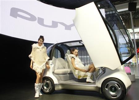 Honda Gets Touchy Feely With Glowing Puyo Car
