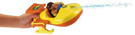 A Fisher Price Go Diego Go boat toy is seen in a handout photo from the Consumer Product Safety Commission website. Dishes, toys, jewelry and backpacks that have not yet been recalled all carried ''worrisome'' levels of lead, the nonprofit Consumers Union said on Monday. It said the items were not included in recent recalls, although some were included in last week's recall of 665,000 products announced by the Consumer Product Safety Commission, including Go Diego Go Animal Rescue Boats from Mattel Inc's Fisher-Price division. REUTERS/Handout