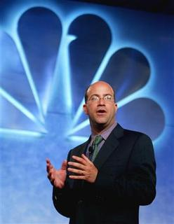 Jeff Zucker is seen in Hollywood July 24, 2003. NBC Universal Chief Executive Jeff Zucker on Monday dismissed repeated rumors that the media company would be sold by parent General Electric. REUTERS/Fred Prouser