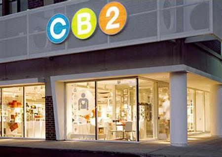 A CB2 store in Chicago in an image courtesy of Crate and Barrel. While the U.S. housing slowdown is crimping sales at numerous home furnishings retailers, it isn't stopping Crate and Barrel from forging ahead with plans to expand its offshoot CB2 brand. REUTERS/Handout