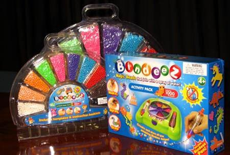 ''Bindeez,'' named Australia's 2007 Toy of the Year, in an undated image. Australia announced a nationwide ban on Wednesday on the Chinese-made toy which investigations showed contained a chemical which metabolizes into a ''date rape'' style drug when swallowed. REUTERS/Product Safety Policy Section/ACCC/Handout