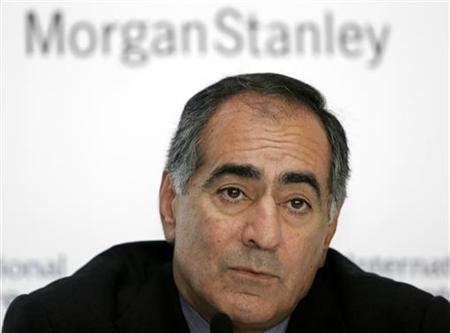 Morgan Stanley CEO John J Mack pictured at the Dubai International Financial Center, United Arab Emirates, March 26, 2006. Morgan Stanley on Wednesday said it has suffered a $3.7 billion loss stemming from its U.S. subprime mortgage exposure. REUTERS/Tamara Abdul Hadi