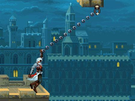 A screen grab of Gameloft's mobile phone game Assassin's Creed. Worldwide mobile phone gaming revenue slid 9 percent during the three months ended in June, sparking concern about slowing demand in the category, research firm iSuppli said on Wednesday. By contrast, in this year's first three months, mobile game revenue rose 11 percent globally, the research firm said. Top mobile game publishers include Gameloft, Electronic Arts, Namco Bandai and Glu Mobile. REUTERS/Gameloft/Handout