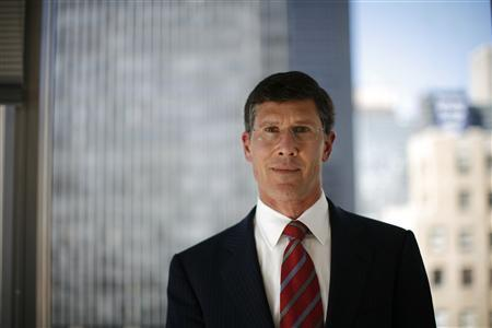 NYSE Euronext Chief Executive John Thain poses for a portrait at the Reuters Exchanges and Trading Summit in New York, May 8, 2007. Merrill Lynch is expected to announce that Thain as its next chief executive, The New York Post reported on its Web site on Wednesday. REUTERS/Eric Thayer