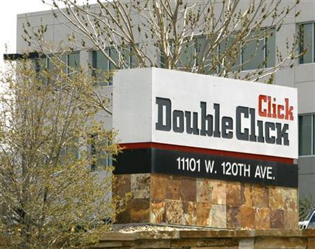 The DoubleClick offices are shown in a Denver, Colorado suburb April 22, 2005. Two U.S. senators on the antitrust subcommittee urged the Federal Trade Commission's chairman to submit Google Inc's <GOOG.O> purchase of advertising company DoubleClick to ''serious scrutiny.'' REUTERS/Rick Wilking