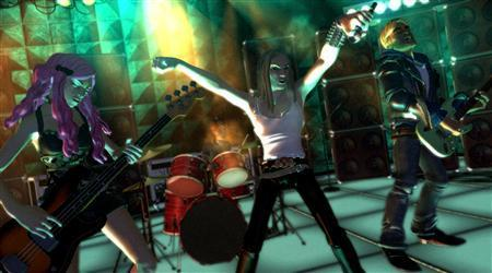An undated screenshot of the video game ''Rock Band.'' REUTERS/Electronic Arts/Handout