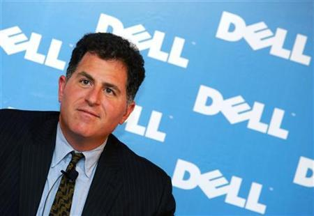 Dell founder Michael Dell in a file photo. The world's second-largest personal computer maker reported a rise in quarterly profit on Thursday as it sold more laptops and component prices fell. REUTERS/Bobby Yip