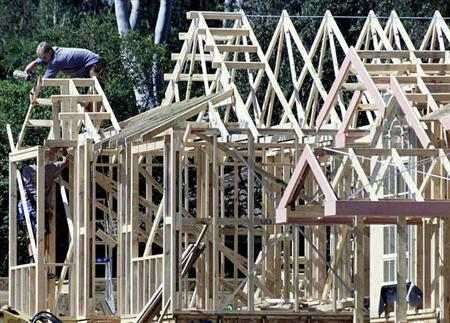 File photo shows a new home being built. A plan to freeze mortgage rates for troubled homeowners may help ease the U.S. housing crisis, but for wiser borrowers and those who have already lost their homes to foreclosure, such a plan seems unfair. REUTERS/Will Burgess