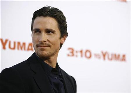 Cast member Christian Bale attends the premiere of ''3:10 to Yuma'' at the Mann National theatre in Westwood, California August 21, 2007. Bale is in negotiations to star in ''Terminator Salvation: The Future Begins,'' the fourth installment of the hit science fiction series. REUTERS/Mario Anzuoni