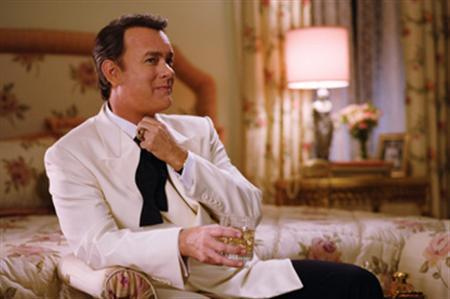 Tom Hanks in a scene from ''Charlie Wilson's War'' in an image courtesy of Universal Pictures. REUTERS/Handout