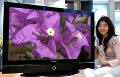 <p>Una tv Lcd Samsung. REUTERS/Samsung Electronics/Handout KKH/CN</p>