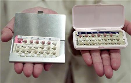 Birth control pills are seen in a file photo. Women could be able to get the contraceptive pill from their chemist without a prescription, a health minister said on Thursday. REUTERS/Kimimasa Mayama
