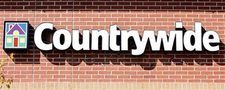 The Countrywide bank is seen in Lakewood, Colorado September 11, 2007. Countrywide Financial Corp said on Thursday that mortgage loan funding tumbled 40 percent to $23 billion in November, sending its shares down nearly 4 percent before the market opened. REUTERS/Rick Wilking