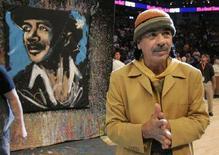 <p>Una immagine di archivio di Carlos Santana REUTERS/Robert Galbraith</p>