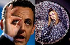 <p>Una combo di Nicolas Sarkozy e Carla Bruni. REUTERS/Philippe Wojazer (GUADELOUPE) and Jean-Christophe Kahn (FRANCE)</p>