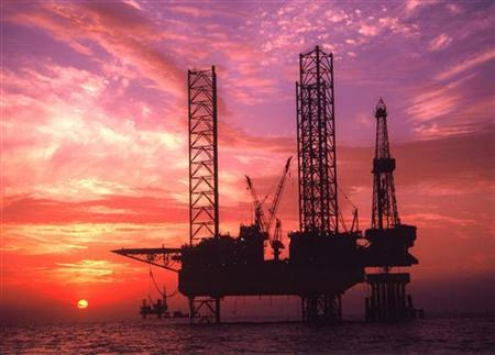 An oil rig in a file photo. REUTERS/File
