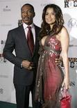 <p>L'attore Eddie Murphy e la produttrice Tracey Edmonds. REUTERS</p>