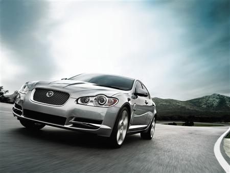 The new 2009 Jaguar XF in an undated photo. Ford said on Thursday India's Tata was the front-runner to buy its European brands Jaguar and Land Rover. REUTERS/Jaguar North America/PRNewsFoto